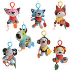 Baby Car Bed Rattle Bell Pacify Dolls Infant Crib Stroller Hanging Animals Toy