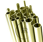 "Brass Tube 1.6mm 2mm, 3mm, 4.5mm,6mm, 8mm 10mm, 12.7mm, 19mm, 1"" etc 300mm Long"