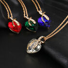 New Heart Valentines Day Gifts Her Women Girls Ladies Wife Love Pendant Necklace