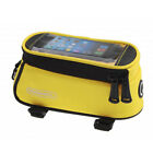 "Roswheel Cycling Bicycle Bike Front Tube Bag Pannier Case for 4.8-5.5"" Cellphone"