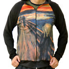 Edvard Munch the Scream Scary Skrik Sweater Track Jacket Shirt Fine Art Print