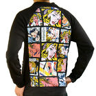 Lichtenstein Drowning Girl Sweater Track Jacket Top Shirt Mens Pop Art Print