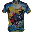 WASSILY KANDINSKY Yellow Red Blue ABSTRACT FINE ART PRINT MENs T SHIRT