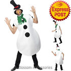 CA120 Snowman Funny Santa Xmas Novelty Frozen Christmas Fancy Costume Outfit