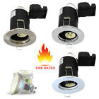 Modern Fire Rated LED GU10 Downlight Recessed Ceiling Spotlights Kitchen Lights