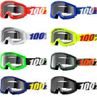 100% Strata Clear Lens Offroad Motocross Goggles