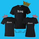 price for s2 - King Queen Matching Couple Love T-Shirt (PRICE IS FOR 2 SHIRTS)