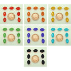20 Lantern Shaped Crystal Glass Beads, 7 Colours Available size 11x7mm