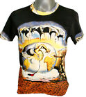 DALI Geopolitical Child Birth New Man Men FINE ART PRINT TOP T SHIRT Surrealism