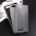 Phone Case Silicon Matte TPU Comfortable Protector Back Cover For Doogee HomTom