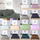 Hotel Quality Deep Pocket Soft Microfiber Fitted Sheet Pillcases Flat Sheet Set image