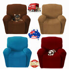1 Seater Super Fit Sofa Couch Cover Recliner Protector Easy Stretch Slipcover-AU
