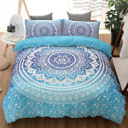 NEW Bedding Duvet Cover Set Bohemian Oriental Boho Chic Mandala Queen King Size image