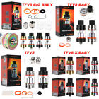Replacement Tank Kit for TFV8/TFV8 Baby/TFV8 Big Baby/TFV8 X-Baby Beast Rainbow