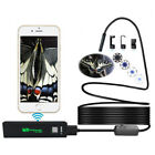 5m 10m Hard Wire WIFI Endoscope Wireless Borescope Inspection Camera w/8 LED Hot