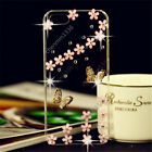 3D Bling Handmade Soft TPU Ultra Thin Transparent Back Case Cover Y04 #1