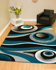 Rug Legend Modern High Quality Hand Carved Area Rug 8x11 Carpet 1504 Turquoise