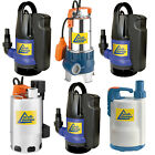 ELECTRIC SUBMERSIBLE PUMP WATER CLEAN DIRTY GARDEN FLOOD POOL WELL POND