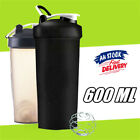 600ml Plastic Protein Powder Shaker Sport Gym Mixer Cup Drink Portable Bottle