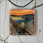 THE SCREAM OF NATURE BY EDVARD MUNCH PENDANT NECKLACE 3 SIZES CHOICE -fty4Z