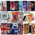 Leather Wallet Card Stand Flip Case Cover For ZTE Blade Smartphones