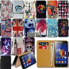Leather Wallet Card Stand Flip Case Cover For Lenovo K Series SmartPhones