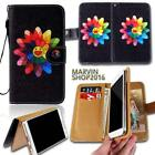 Leather Wallet Card Stand Flip Case Cover For Various BQ Aquaris phones