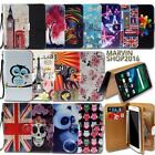 Leather Wallet Card Stand Flip Case Cover For Various LG Optimus SmartPhones