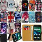 Leather Wallet Card Stand Flip Case Cover For Various LG X Series Phones