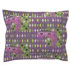 Mardi Gras Carnival Carnivale Fat Tuesday Mask Mardi Pillow Sham by Roostery