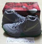 NIKE KYRIE 4 CITY OF GUARDIANS CELTICS PARQUET LEGENDS 943806-001 GREY GREEN