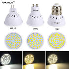 GU10 MR16 E14 E27 LED Spotlight Bulb 4W 6W 8W 2835 SMD Lamp 110V 220V 12V Bright