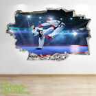 KICK BOXING WALL STICKER 3D LOOK - BEDROOM LOUNGE MARTIAL ARTS WALL DECAL Z713