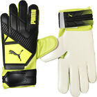 Puma Goalkeeper Gloves Elite 2 RC Mens Football Training Goalie Black Yellow New