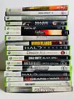 Xbox 360 Games Lot **PICK & CHOOSE** Call of Duty-HALO-Battlefield-Creed-Skyrim