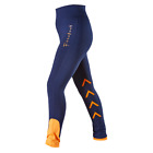 "Firefoot Ripon Ladies Stretch Breeches, Sizes 24"" to 36"", Navy/Orange"
