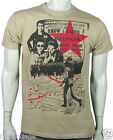 NEW Clash joe strummer punk Hammersmith Palais seditionist sand tee small - 3xl
