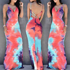 USA Women Summer Boho Long Maxi Dress Evening Cocktail Party Beach Dresses