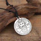 Key of Solomon The First Pentacle of The Sun Amulet Pendant Necklace for Men