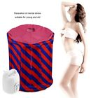 1.8L Sauna Steamer Pot Machine with Tent Home Personal Spa Body Slimming Therapy