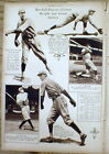 1920 NY Times newspaper Mid-Week Pictorial magazine w 10 BASEBALL Players PHOTOS