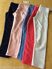 NWT Gymboree Girl Classic Leggings Navy Blue White Pink Hot Pink Blue Many sizes