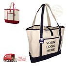 Custom Printed XL Top Rated Canvas Bags - Wholesale Logoed Eco-Friendly Bags