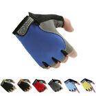 Sports Anti-Slip Half Finger Gloves Men Women Mountain Biking Driving Fingerless
