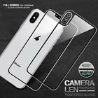 For Apple iPhone X Full Coverage Tempered Glass Screen Protector Cover Film