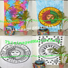 Psychedelic Tie Dye Sun Moon Indian Hippie Tapestry Indian Wall Hanging Tapestry