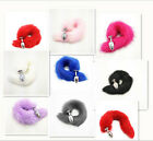 Multiple colors sizes 40cm length Faux Fur Fox Cat Tail with Metal Plug