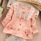 baby girl jackets 9 12 months - Newborn Baby Girl 100% Cotton Fashion Clothing Infant Baby Cute Princess Jacket