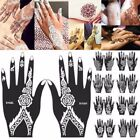unusual tattoo design - India Henna Temporary Tattoo Stencils Kit for Hand Arm Body Art Decal