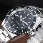 Business Dress Sewor Mens Date Automatic Mechanical Wrist Watch Stainless Steel